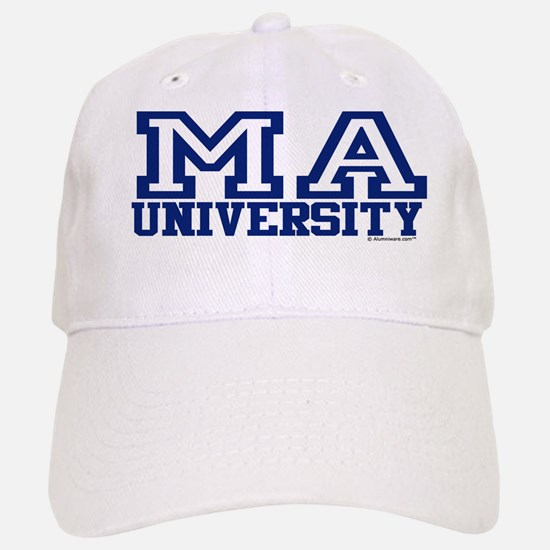 MA University Baseball Baseball Cap