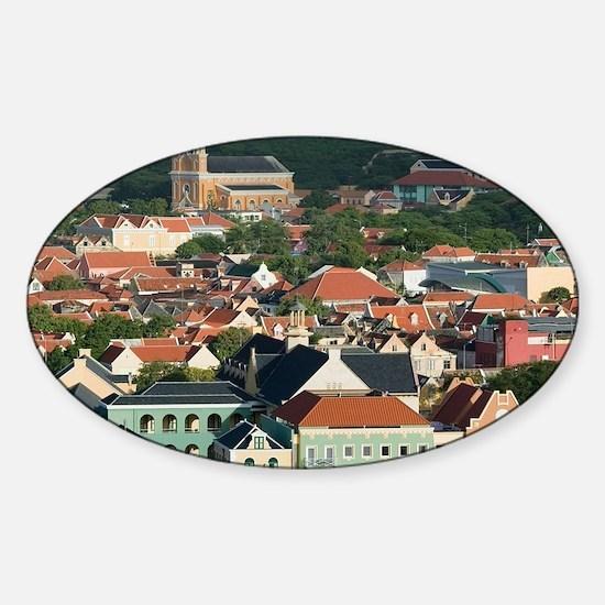 Otrobanda Waterfront/ Morningtad: O Sticker (Oval)