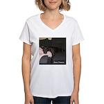 dog tired Women's V-Neck T-Shirt