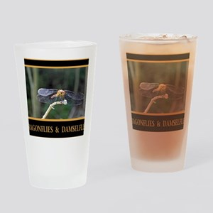 Dragonfly and Damselfly image Drinking Glass