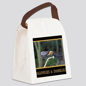 Dragonfly and Damselfly image Canvas Lunch Bag