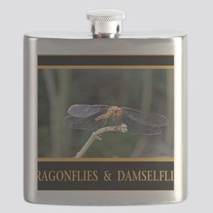 Dragonfly and Damselfly image Flask