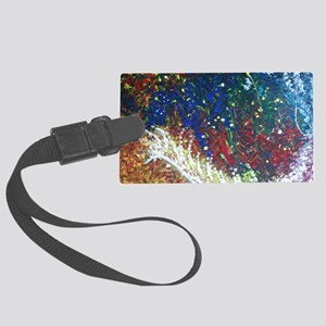 Paintings by Disabled Stroke Sur Large Luggage Tag