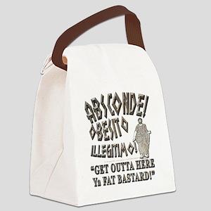fat bastard nb Canvas Lunch Bag