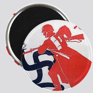Death To Fascism WW2 Red Army Magnet
