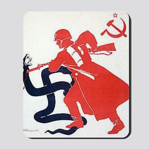 Death To Fascism WW2 Red Army Mousepad
