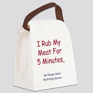 rub Canvas Lunch Bag