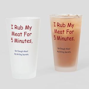 rub Drinking Glass
