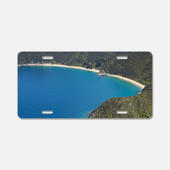 New Zealand - aerial Aluminum License Plate