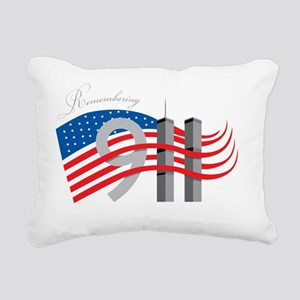 REMEMBER 911 Rectangular Canvas Pillow
