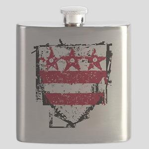 Washington_coat_of_arms Flask