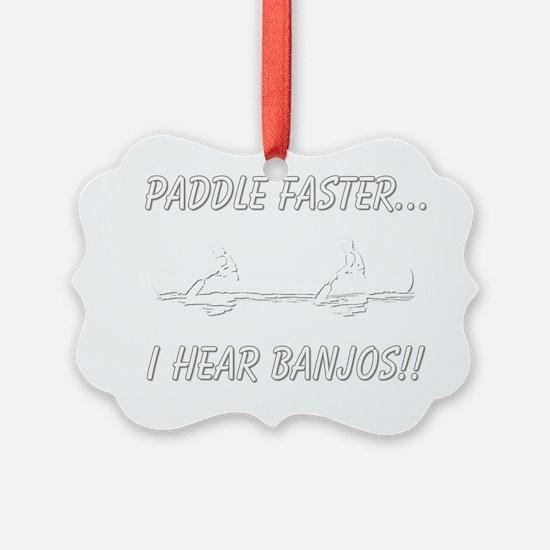 banjos-dark Ornament