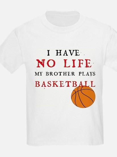 No Life....Basketball Kids T-Shirt