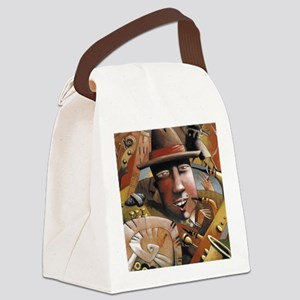 Jazzed Canvas Lunch Bag