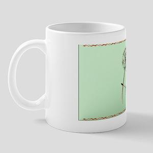 Patch Dandelion and Hummingbird Mug