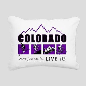 LIVE it! Rectangular Canvas Pillow
