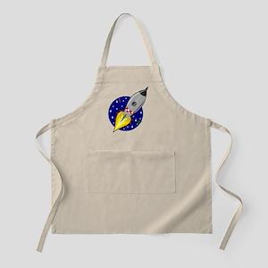 Space Rocket Blue FBC Apron