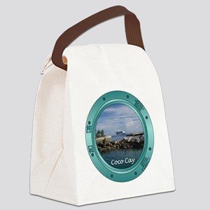 coco-cay2 Canvas Lunch Bag