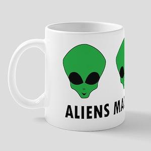 aliens made me do it Mug