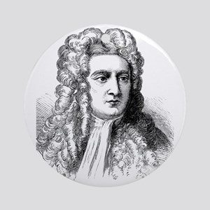 Newton Round Ornament