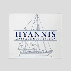 Hyannis MA - Throw Blanket