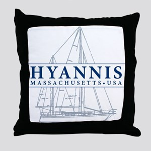 Hyannis MA - Throw Pillow