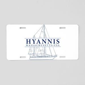 Hyannis MA - Aluminum License Plate