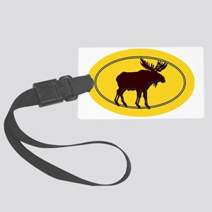 moose Large Luggage Tag