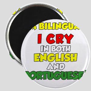 Bilingual English and Portuguese Magnet
