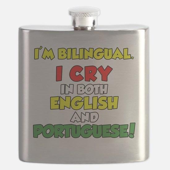 Bilingual English and Portuguese Flask