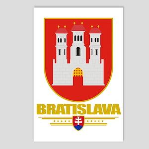 Bratislava COA (Flag 10) Postcards (Package of 8)