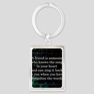 friendpillow Portrait Keychain