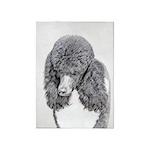 Standard Poodle (Parti) 5'x7'Area Rug