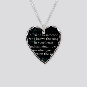 friendpillow Necklace Heart Charm