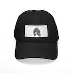 Standard Poodle (Parti) Black Cap with Patch