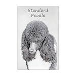 Standard Poodle (Parti) Mini Poster Print