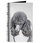 Standard Poodle (Parti) Journal