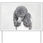 Standard Poodle (Parti) Yard Sign