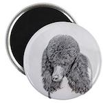 Standard Poodle (Parti) Magnet