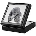Standard Poodle (Parti) Keepsake Box