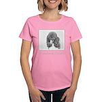 Standard Poodle (Parti) Women's Dark T-Shirt