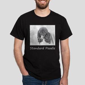 Standard Poodle (Parti) Dark T-Shirt
