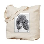 Standard Poodle (Parti) Tote Bag