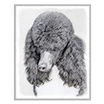 Standard Poodle (Parti) Small Poster