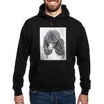 Standard Poodle (Parti) Hoodie (dark)