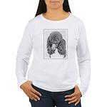 Standard Poodle (Parti Women's Long Sleeve T-Shirt