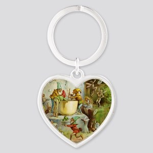 book of gnomes007_SQ3 Heart Keychain