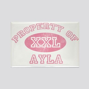 Property-of-Ayla Rectangle Magnet