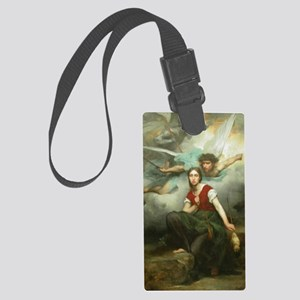 Jeanne_d_Arc_(Eugene_Thirion) Large Luggage Tag