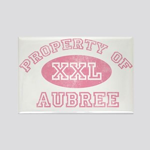 Property-of-Aubree Rectangle Magnet